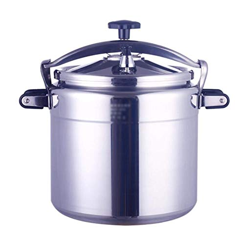 NDYD 15-70L explosion-proof pressure cooker, commercial large-capacity pressure cooker thick aluminum alloy pressure cooker suitable for hotels canteens schools food stalls etc. DSB