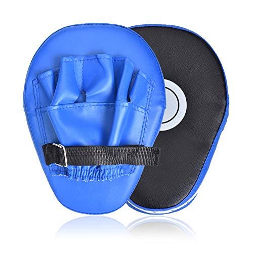 Wuudi 1 Paar PU Boxer Claw Foot Kick Pads für Kickboxen Boxen Pratzen für Muay Thai Kickboxen Bewegung Karate Taekwondo Martial Arts