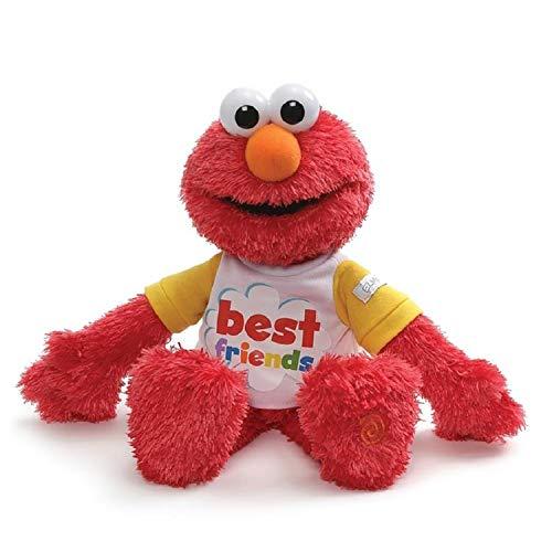 Gund 6052071 Sesame Street Best Friend Talking Elmo, 8.5'