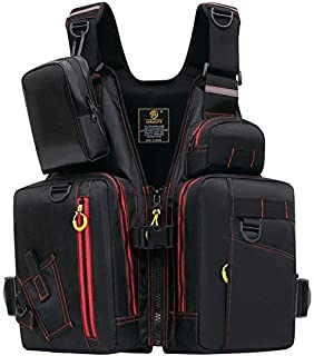 MORGEN SKY ライフジャケット フローティングベスト ゲームベスト 磯用 防撥通気 軽く便利保護 2色 CE認証あり J41