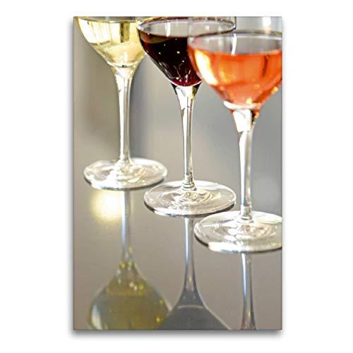 CALVENDO Premium Textil-Leinwand 60 x 90 cm Hoch-Format Madiran Wein, Leinwanddruck von Patrice Thebault
