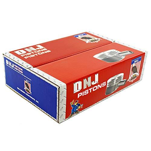 DNJ P4309A.20 Oversize Piston Set For 13-16 Mazda/CX-5, 3 2.0L L4 DOHC Naturally Aspirated