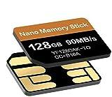 Tomaxx - Scheda di memoria Nano Memory NM da 90 MB/s 128 GB, compatibile con OnePlus 7T, OnePlus 7T Pro, Huawei P30, P30 Pro, P40 Pro, P40, P30 Pro New Edition, Mate 20, Huawei Mate 40 Pro