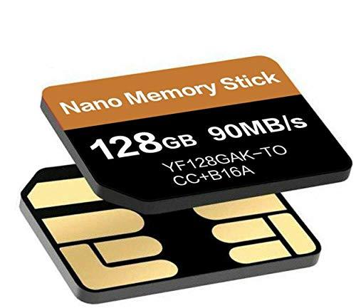 tomaxx 90MB/s 128GB Nano Memory NM Card Speicherkarte Karte SIM passt Kompatibel für OnePlus 7T, OnePlus 7T Pro, Huawei P30, P30 Pro, P40 Pro, P40, P30 Pro New Edition, Mate 20, Huawei Mate 40 Pro