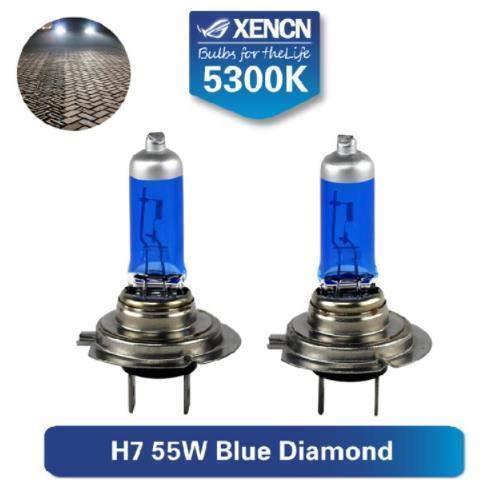 H7 Xenon Optik Halogen Lampen 8500K Super Weiss 12 Volt 55 Watt Birnen