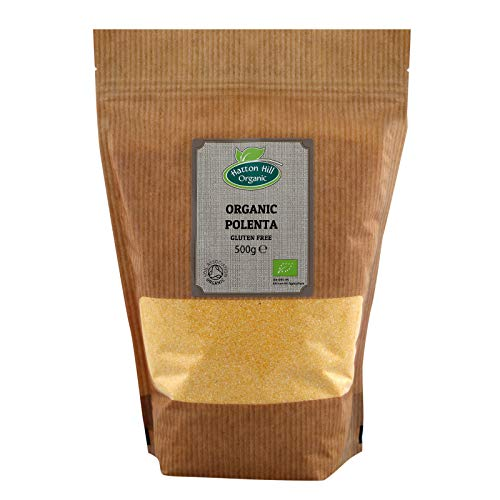 BIO Polenta (Glutenfrei) 500g von Hatton Hill Organic – BIO zertifiziert