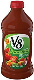 V8 Original Low Sodium 100% Vegetable Juice (Pack of 4)