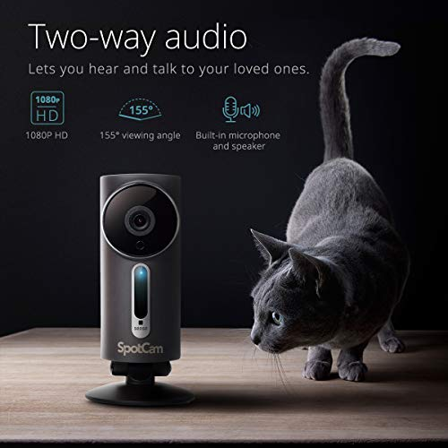 SpotCam 1080P Full-HD IP-Kamera / WLAN-Überwachungskamera Outdoor mit Smart Home Integration - 4