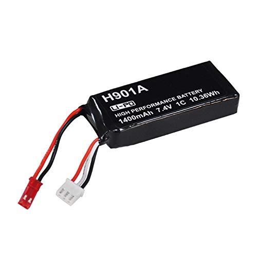 PinShang - Mando a Distancia Recargable para Hubsan H107D/H501S/H502S/H501A/H123D/H901A (7,4 V, 1400 mAh)