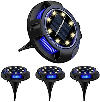 4-Pack Devo IP65 Waterproof Solar Lights