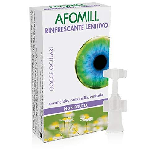 Montefarmaco Otc Afomill Rinfrescante Monouso - Pacco da 10 fiale x 50 ml