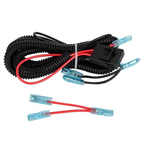 Arnés de cableado de 1,5 m Cable de motocicleta Accesorio de motocicleta...