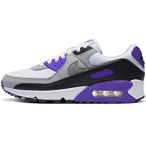 Nike Women's Race Running Shoe, White Particle Grey Hyper Grape Black, Women 2