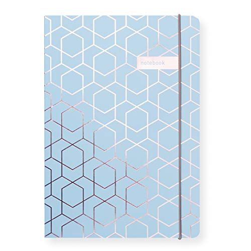 Matilda Linton Myres Notebook – Rose Gold Folie Mint
