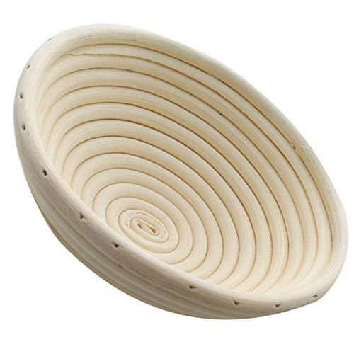 teng hong hui Herramienta de Bricolaje utensilio de Cocina Multi Tamaño Oval Redondo Pan rústico fabricación de Pan Bol Fermentación Rattan Cesta Hornear tazón