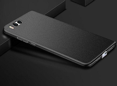 Baanuse Xiaomi 6 Cover Xiaomi Mi6 Cover [Ultra Slim Soft TPU] [Sand Scrub Non-Slip] [Shockproof Armor] Custodia per Xiaomi 6 Nero
