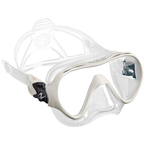 Aqualung - Tauchmaske Linea, transparent, weiß