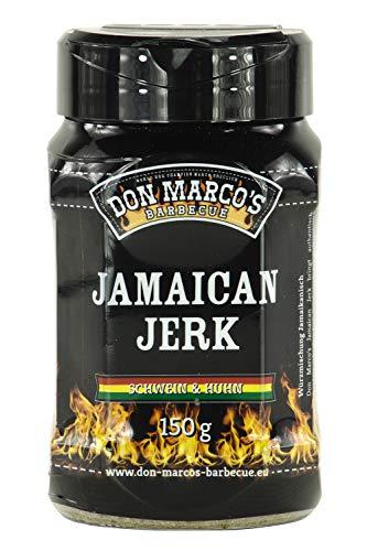 Don Marco's Spice Blend Jamaican Jerk 150g in der Streudose, Grillgewürzmischung