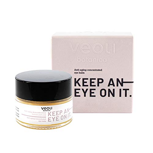 veoli Keep an eye on it Augenbalsam 15ml alle Hauttypen, Augencreme reichhaltige Pflege, Pflegecreme Anti-Aging