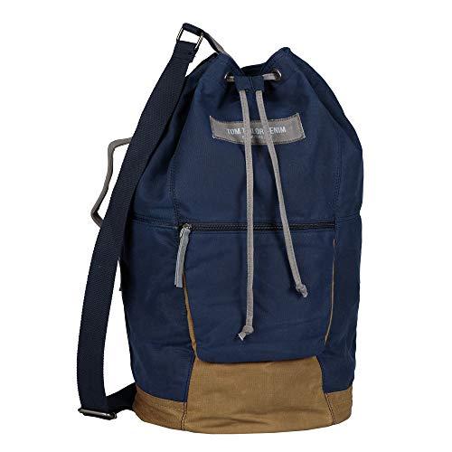 Denim TOM TAILOR bags BEN Herren Seesack one size, dark blue, 28x27x50