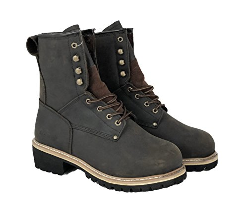 LABO Steel Toed Working Boots - 893S Brown 12