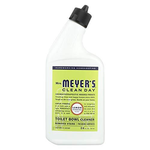 S C Johnson Wax 12167 Clean Day Toilet Bowl Cleaner, Lemon Verbena Scent, 24-oz. - Quantity 6