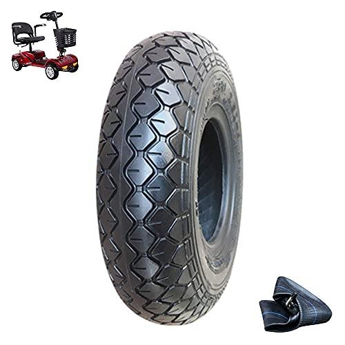 Neumáticos de Scooter eléctrico, neumáticos internos y externos de patín de 2,80/2,50-4, neumáticos de Domo de 4 Capas Resistentes al Desgaste, adecuados para Accesorios de neumáticos de Scoot