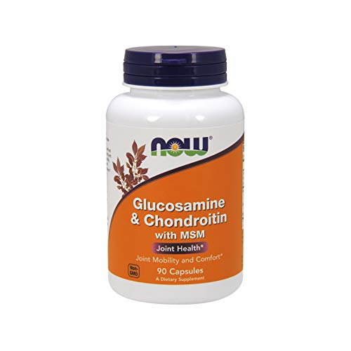 Now Glucosamina Condroitina Con Msm 90 Capsule - 90 g