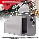 Motocicleta Accesorios CNC Caja de Aluminio Caja de Herramientas 5 litros Ajuste para Soporte Lateral Izquierdo para BMW R1250GS LC Adventure R 1250 GS Tool Box 2019-2020 Decorativo