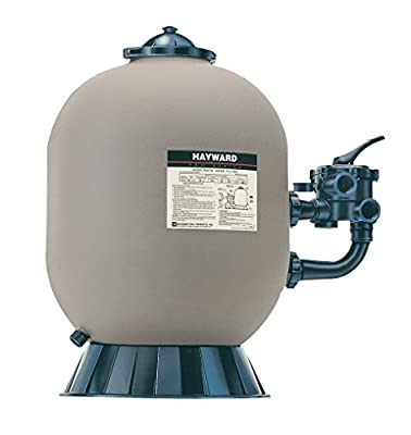 Hayward S210S 21-Inch Polymeric Pro Series Side Mount Sand Filter with 1-1/2-Inch Vari-Flo Control Valve from Hayward - Distribution