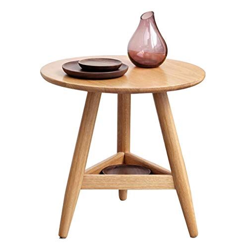 Tables Table Basse Table De Téléphone Table De Lit Coin Nordique Côté En Bois Massif Triangle Salon Double Canapé Vert Table De Rangement Table Minimaliste Moderne Table À Thé Tables de dos de canapé