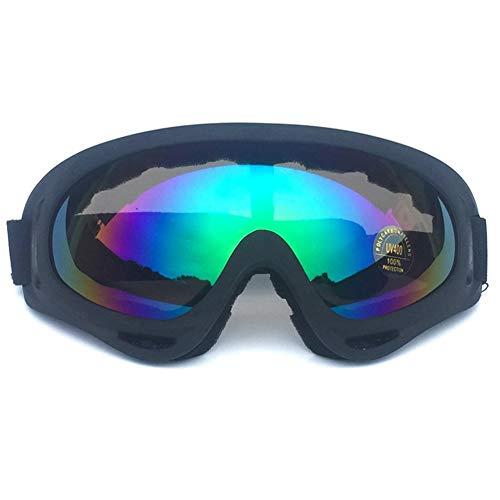 EStasyXworld Gafas Antideslizantes para esquí Antideslizante Snowboard Snow Goggles para Hombres Mujeres jóvenes para Patinaje sobre Motos de Nieve
