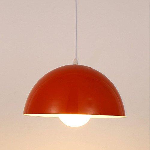 Moderne Anhänger Deckenleuchte Shade Metall Beleuchtung Esszimmer Kronleuchter Leuchtmittel rot