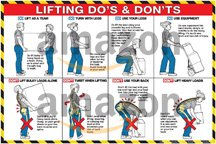 Lifting Do's and Don'ts 24' X 36' Poster