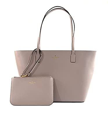 Kate Spade Bennet Place Small Harmony Smooth Leather Tote Shoulder Bag Purse Handbag with Matching Wristlet Pouch