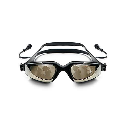 LEIAZ Gafas De Natación De Marco Amplio, Gafas para Nadar Gafas De Natación Antigoteo, Antiniebla Y Protección UV para Hombres, Mujeres, Adultos, Jóvenes