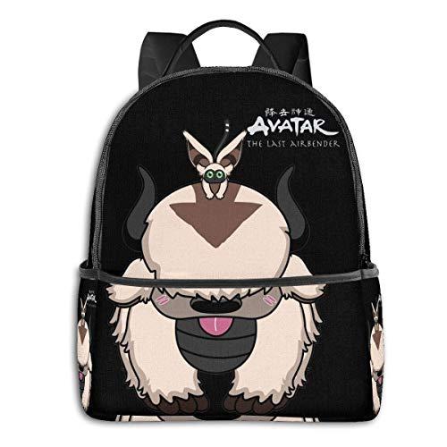 Yuanmeiju Appa Avatar The Last Airbender School Travel Dual Purpose Large Capacity Schoolbag Backpack