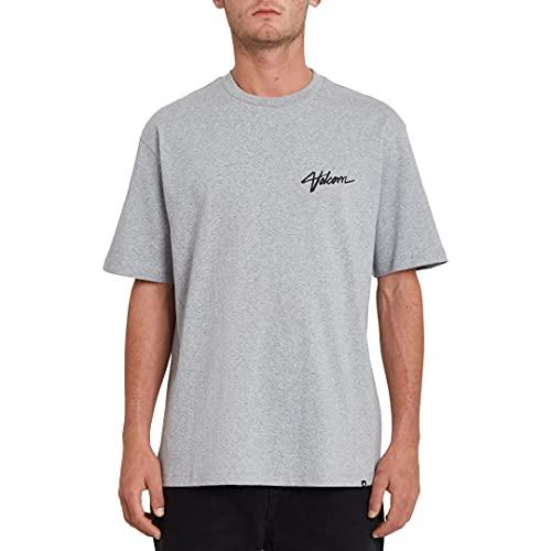 Volcom Camiseta de Manga Corta Marca Modelo Sludge Les SS