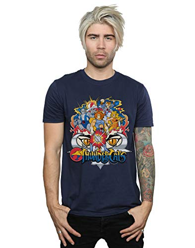 Mens' Official Thundercats Group Shot T-shirt, S to 5XL
