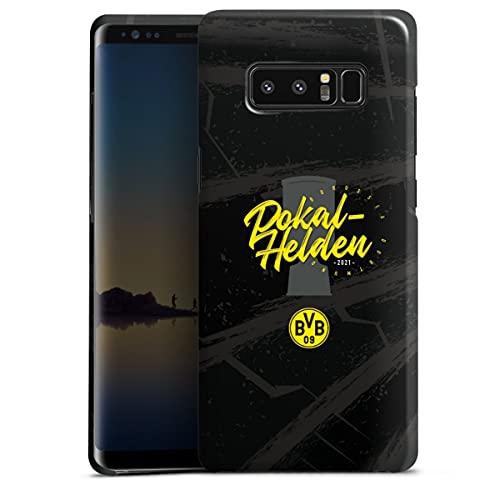 DeinDesign Premium Hülle kompatibel mit Samsung Galaxy Note 8 Duos Smartphone Handyhülle Hülle glänzend Borussia Dortm& Pokal BVB
