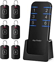 Key Finder, Stick on Remote Finder Locator | 6 Pack Key Finders That Make Noise, 95dB Beeper RF Wireless Wallet Car Key and TV Remote Control Finder | Item Remote Tracker for Wallet Phone and Glasses