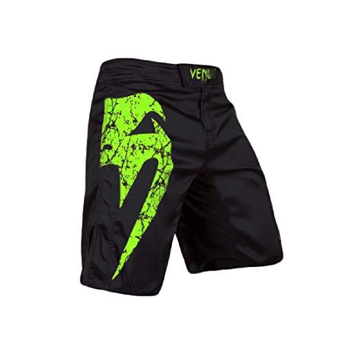 YSYFZ Pantaloncini Boxe Kickboxing Uomo da Jogging Formazione Pantaloni idoneità MMA BJJ UFC