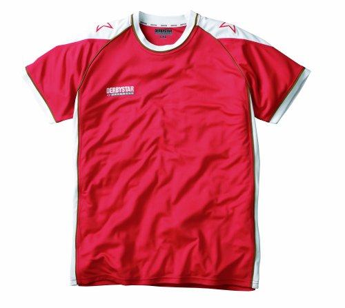 Derbystar Trikot Professional Kurzarm, XXL, rot weiß, 6184070310
