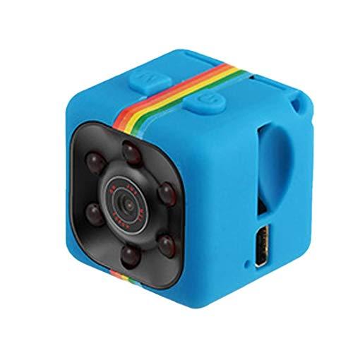 EElabper Videocamera HD 1080p sensore di Movimento di Visione Notturna SQ11 Mini videocamera Micro Dvr Camara Sport DV Video Recorder Blu
