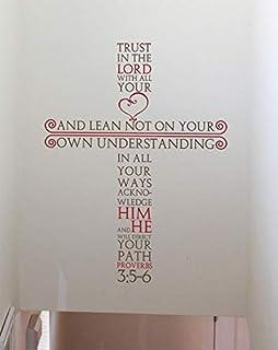 اقتباس ديني لغرفة المعيشة، جدار الشارات لغرفة المعيشة، ديكور المنزل، ماء ملصقات الحائط