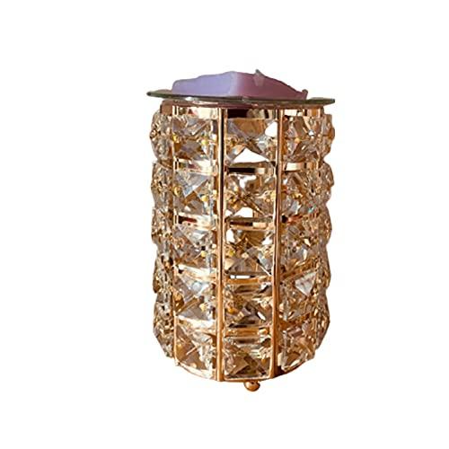 laoonl Lámparas aromáticas sin llama con efecto 3D, luz decorativa suave de la noche para el...