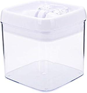 Fasloyu Contenants hermétiques en plastique avec couvercles faciles à verrouiller, boîtes sans BPA pour céréales, comptoir...