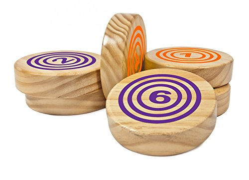 Rollors Backyard Game Expansion Pack (Orange and Purple Discs Only)