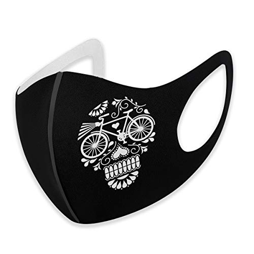 794 Crazy Skull Bike Male and Female Adult Facial Decorations