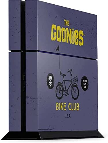 Skinit Decal Gaming Skin Compatible with PS4 Console - Officially Licensed Warner Bros The Goonies Bike Club Design